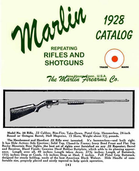 Marlin 1928 Firearms - Catalog