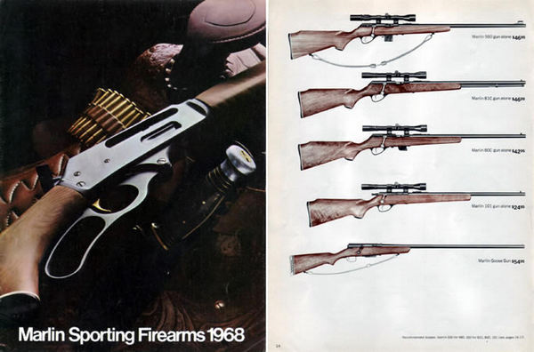 Marlin 1968 Firearms Catalog