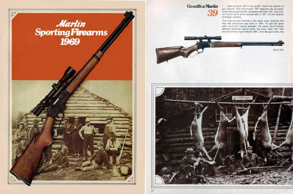 Marlin 1969 Firearms Catalog