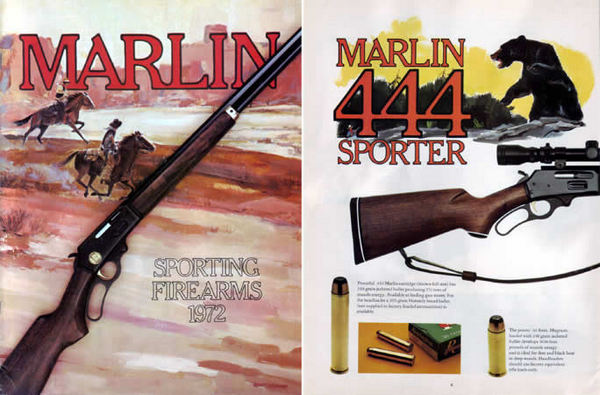Marlin 1972 Firearms Catalog
