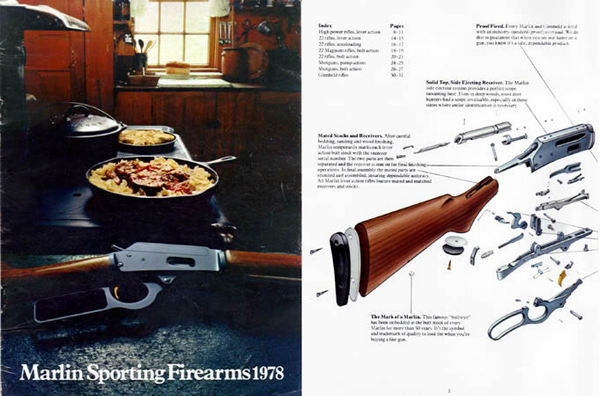 Marlin 1978 Firearms Catalog