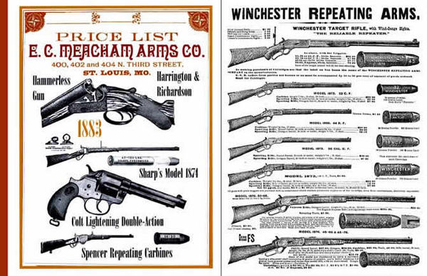EC Meacham Arms Co. 1883 Gun Catalog