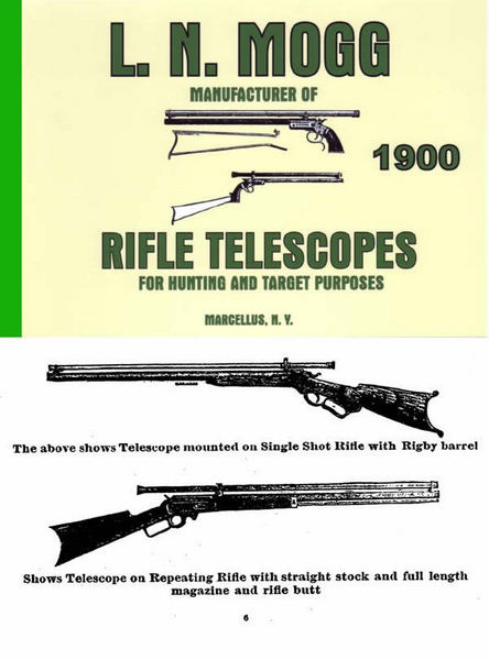 L. N. Mogg Rifle Telescopes 1900 Catalog