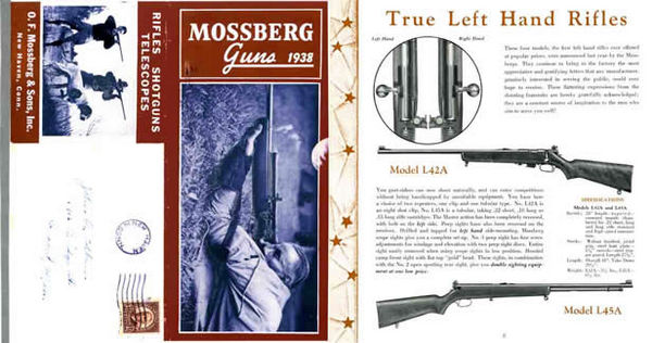 Mossberg 1938 and Sons Gun Catalog