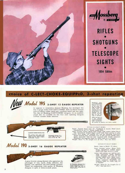 Mossberg 1954 Guns Catalog