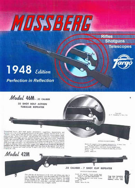Mossberg 1948 Rifles Shotguns Catalog