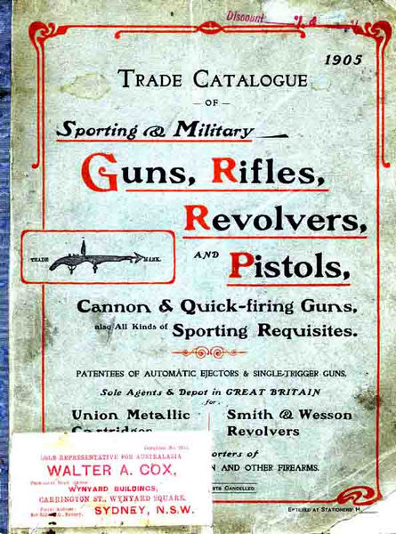 Charles Osborne & Co. 1905 - (UK) Firearms & Sports Catalogue
