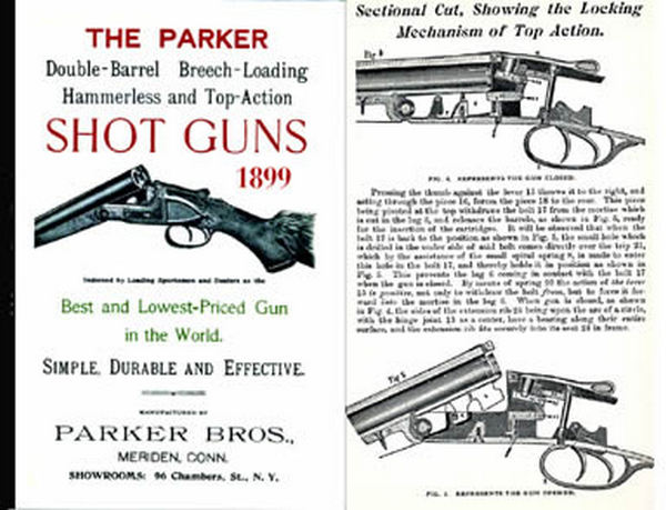 Parker 1899 Shot Guns Catalog
