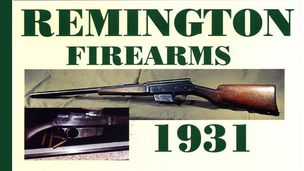 Remington 1931 Firearms Catalog
