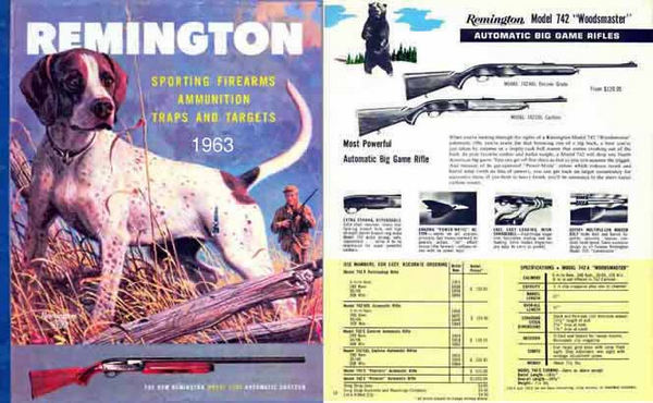 Remington 1963 Firearms Catalog