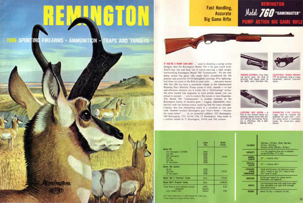 Remington 1965 Firearms Catalog