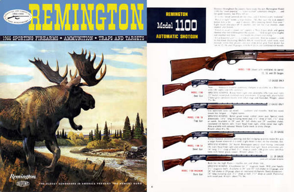 Remington 1966 Firearms Full Line Catalog