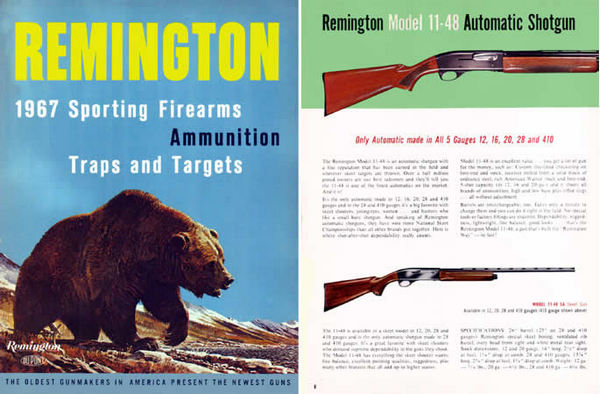 Remington 1967 Firearms Full Line Catalog