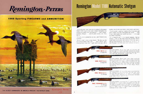 Remington 1968 Firearms Catalog