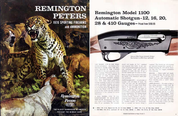 Remington 1970 Firearms Catalog