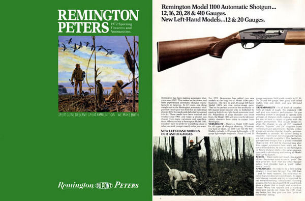 Remington 1972 Firearms Catalog