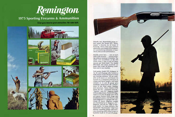 Remington 1975 Firearms Catalog