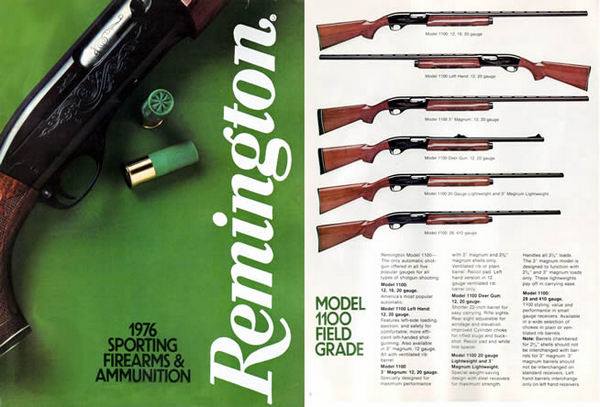 Remington 1976 Firearms Catalog