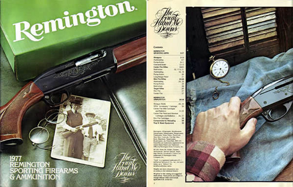 Remington 1977 Firearms Catalog