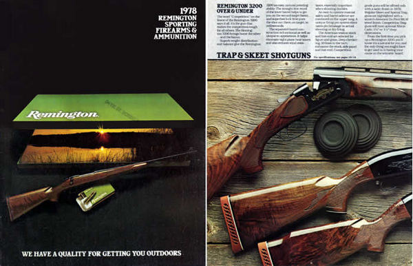 Remington 1978 Firearms Catalog