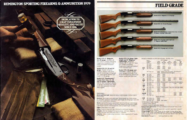 Remington 1979 Firearms Catalog