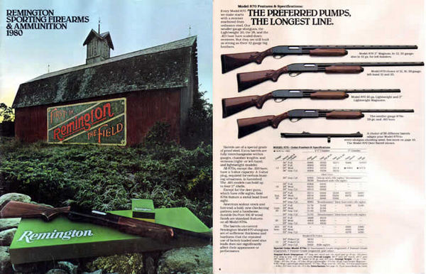 Remington 1980 Firearms Catalog