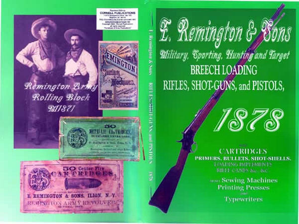 Remington 1878 E. & Sons - Rifles, Shot-Guns, and Pistols