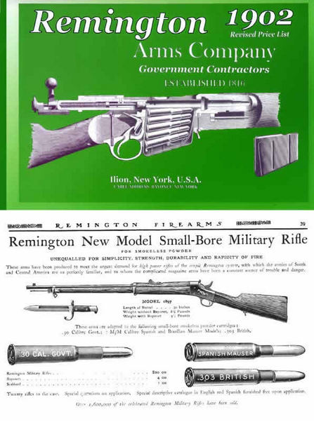 Remington 1902 Arms Company - Catalog and Parts Catalog