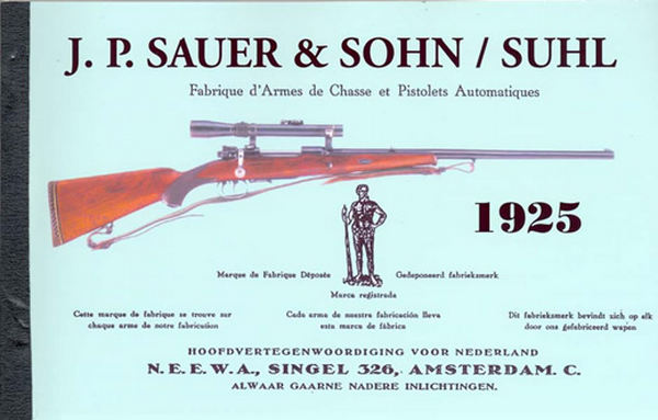 JP Sauer & Sohn - Suhl Rifles, Pistols, Guns 1925 Catalog
