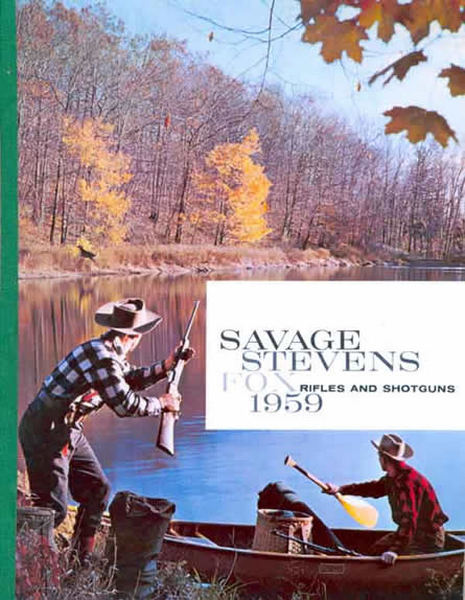 Savage 1959, Stevens Fox, Rifles, Shotguns Catalog