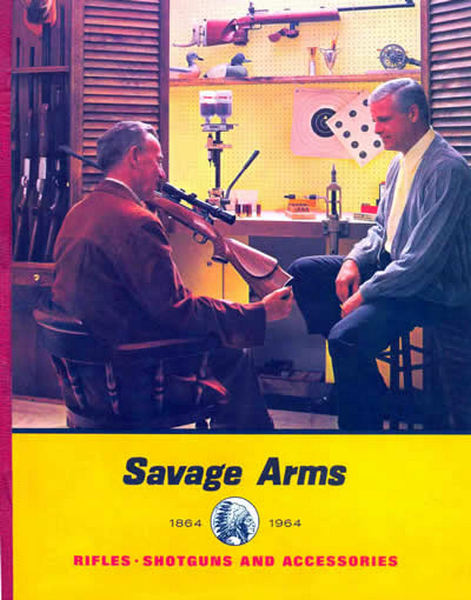 Savage 1964 Arms Shotguns, Rifles and Accessories Catalog