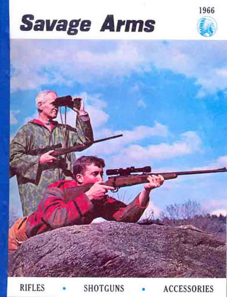 Savage 1966, Stevens, Fox, Rifles, Shotguns, Pistols Catalog