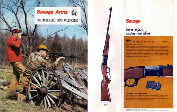 Savage 1967 Stevens Fox Catalog