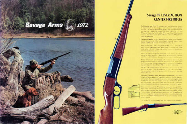 Savage 1972 Stevens Fox Catalog