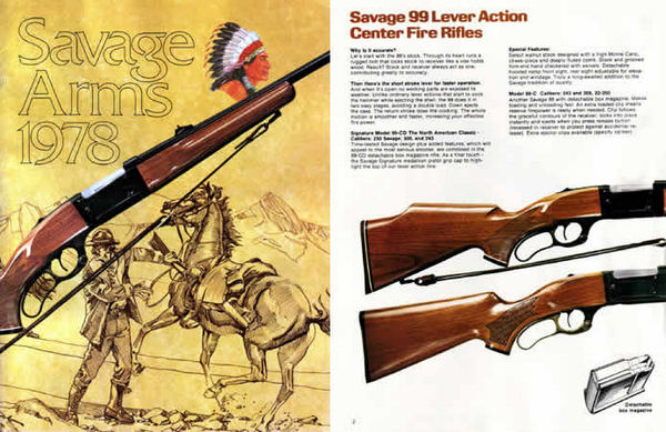 Savage 1978 Stevens Fox Catalog