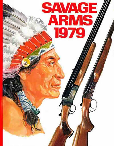 Savage 1979 Arms Gun Catalog