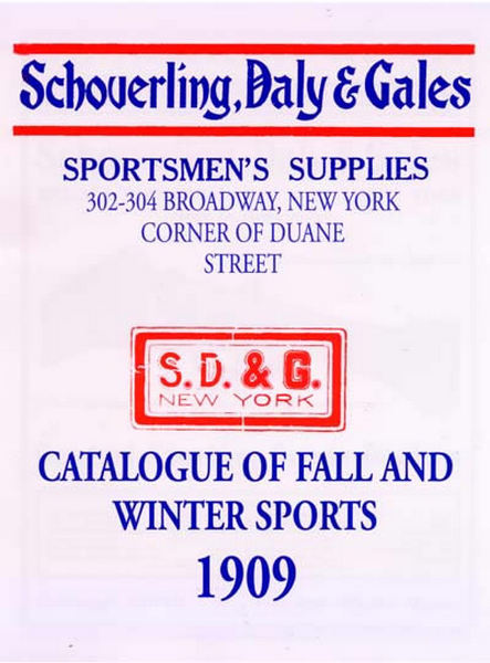 Schoverling, Daly & Gales 1909 Firearms and Sport Goods Catalog