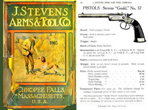 Stevens c1905 Arms & Tool Co. No.51 (later issue)