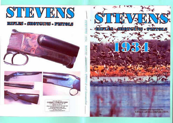 Stevens 1934 Co. Rifles, Shotguns, Pistols