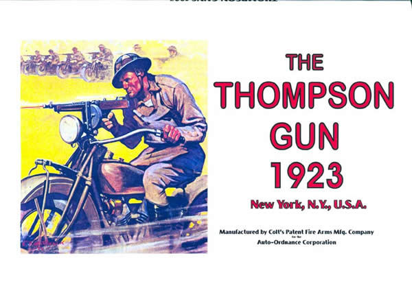 Thompson 1923 Submachine Gun Catalog