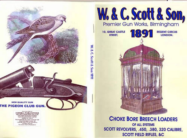W & C Scott & Son 1891 Shotgun & Rifle Catalog