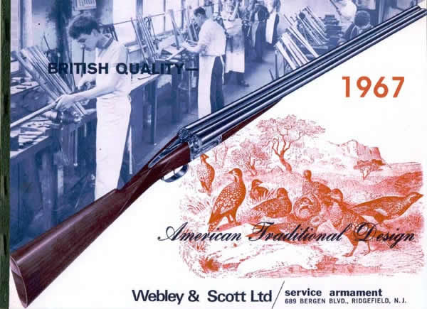 Webley & Scott 1967 Shotgun, Rifle and Air Gun Catalog