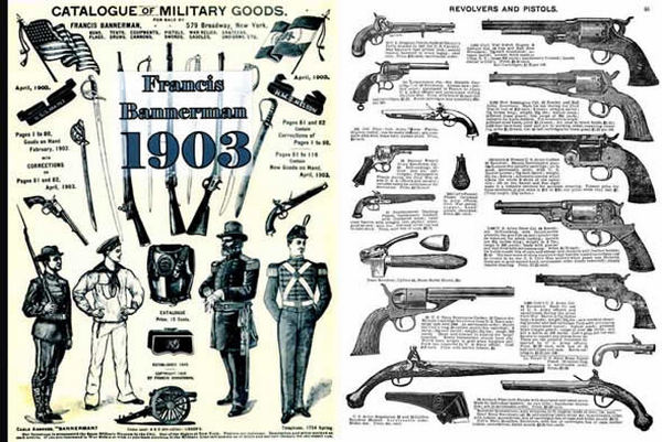 Bannerman 1903 Gun, Ammo, Surplus Catalog
