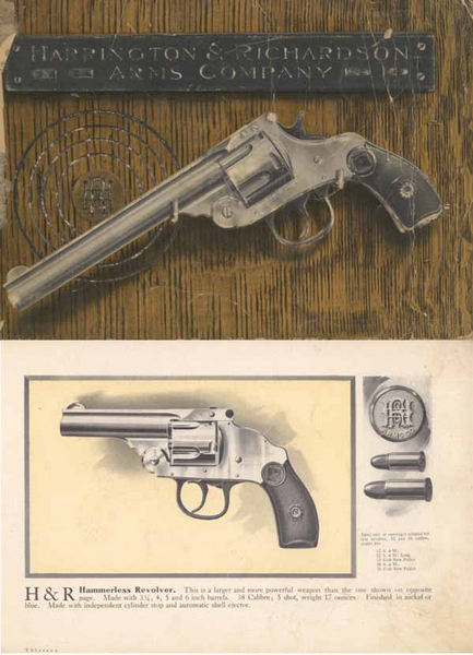 Harrington & Richardson Arms 1906 Revolvers & Shot Guns Catalog