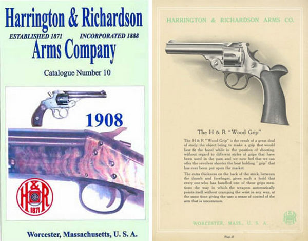 Harrington & Richardson Arms 1908 Catalog