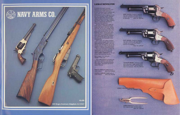 Navy Arms 1989 Gun Catalog