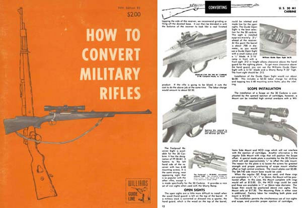 Williams 1968- How to Convert Military Rifles 5th ed