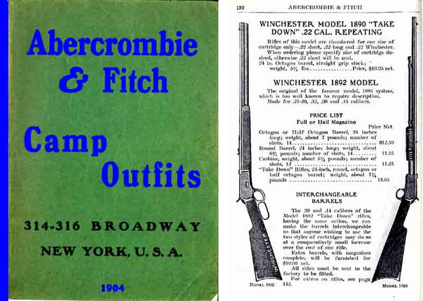 Abercrombie & Fitch Firearms & Sports 1904 Catalog