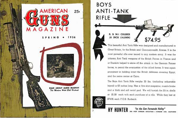 Great Guns Quarterly 1956 American Guns Magazine Vol1, No. 1 Andy Palmer