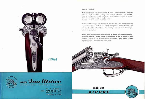 Armi San Marco 1964 (Italy) Catalog